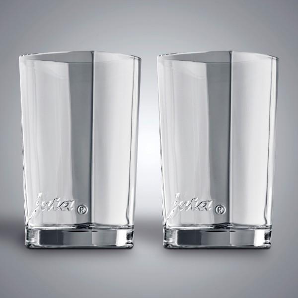 JURA Latte Macchiato Gläser 2er Set klein