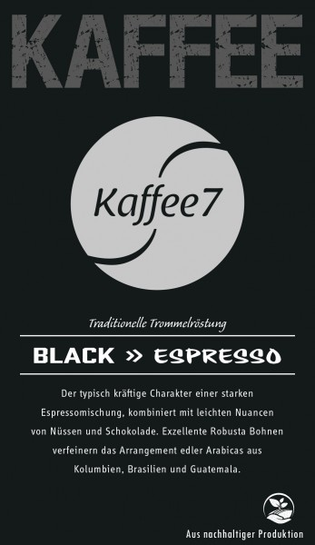 K7 Black 250 Gramm